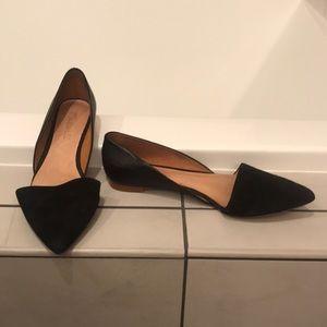 Madewell Black Flats